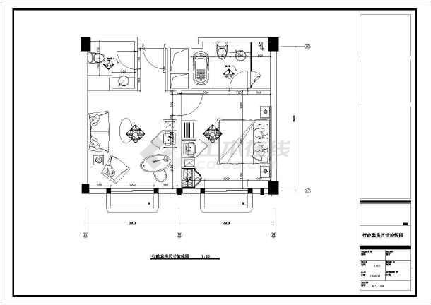 套房设计平面图片展示