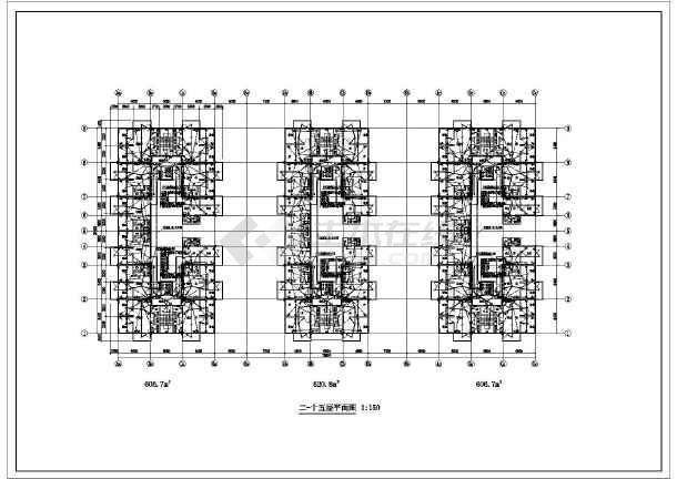 某地十五层普通住宅楼电气v电气施工图三洋a6图纸机芯图片