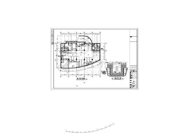 某地十七层框剪结构酒店建筑设计施工图