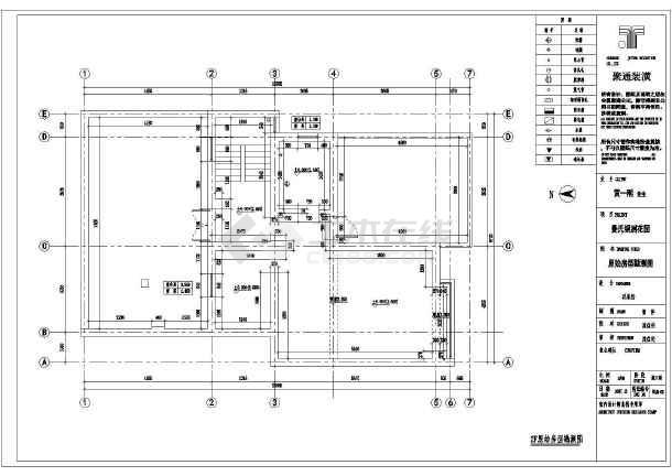 某复式公寓楼中档装修设计施工图纸