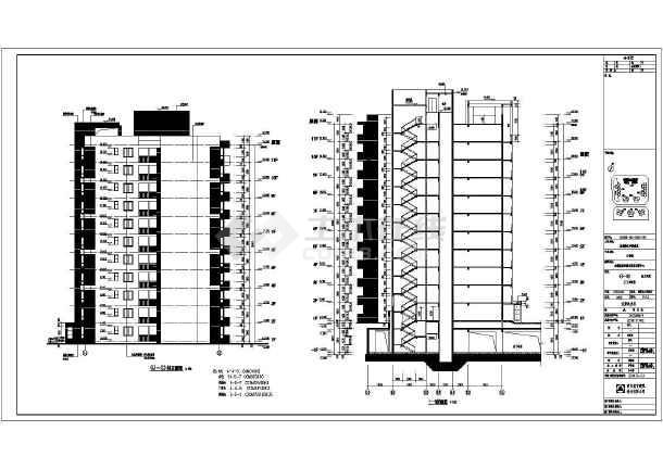 栋住宅楼pkpm剪力墙结构施工图砖混结构住宅楼施工图