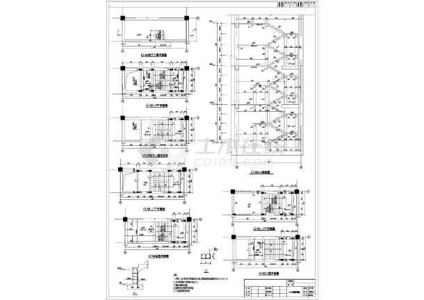【陕西】18层框剪结构商务办公楼结构施工图
