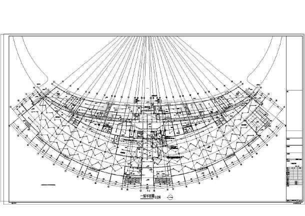 【浙江】大型体育场建筑全套电气施工图纸图片3