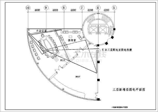 某3层新增室内精装图纸火山配套工程图纸电气甲胸图片