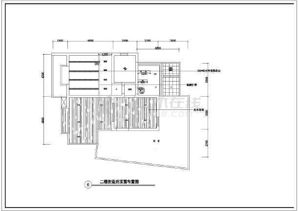某城市跃层装修施工设计图(共18张)