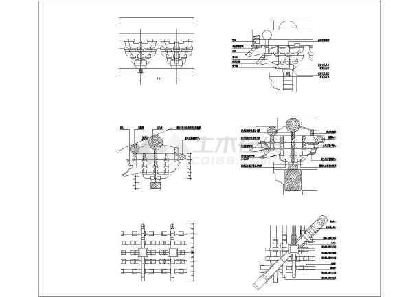 某地区样品、全套建筑结构板状(图纸)_cad榫卯图纸斗拱图纸拉伸图片
