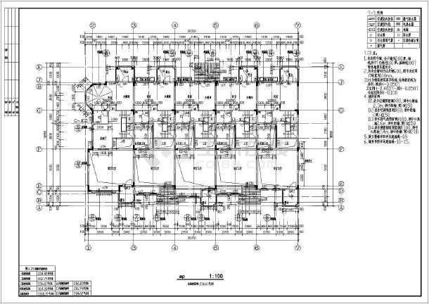 某地地中海图纸联排别墅图纸建筑全套报建大风格要多图片