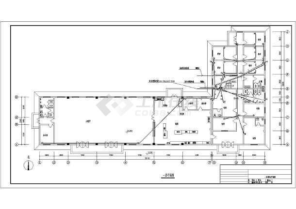 某单位自用二层食堂 宿舍建筑电气设计