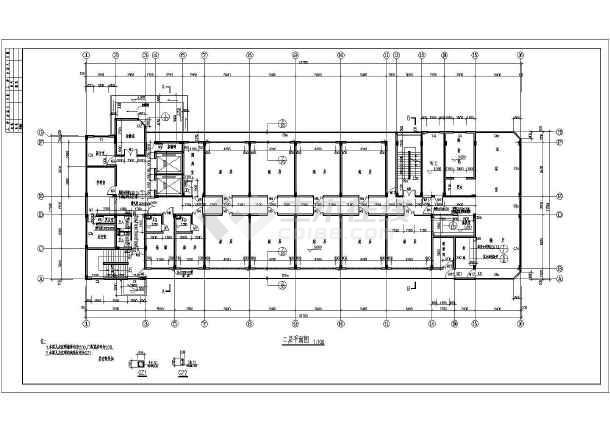 某地五层方案结构精神病疗养院建筑设计校园图论文景观设计框架开题报告图片