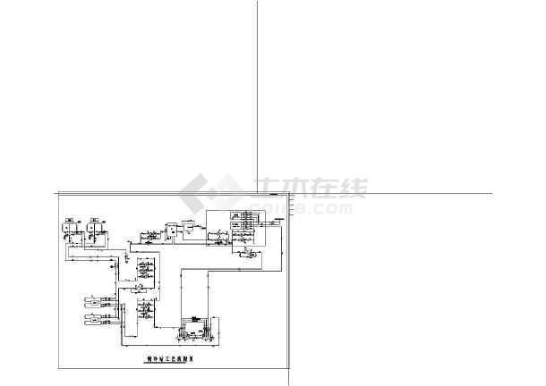佳木斯某商场中央空调施工设计图纸