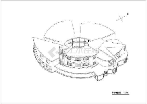 某两层六班小型幼儿园建筑方案设计(课程设计)图片