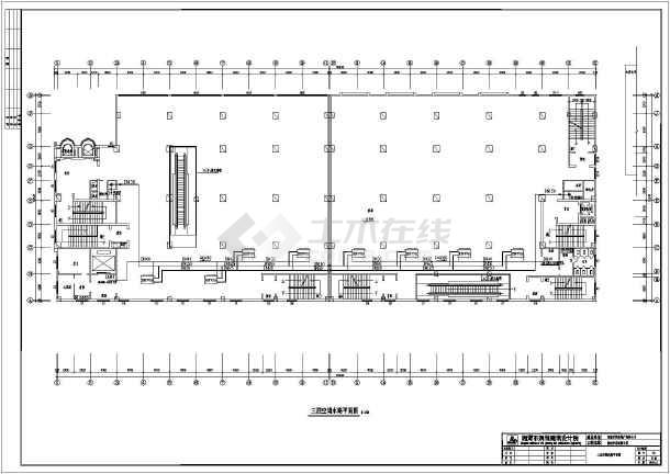 某五层商业楼全空气空调系统暖通设计图