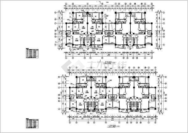 某地6层框架结构住宅楼建筑设计施工图