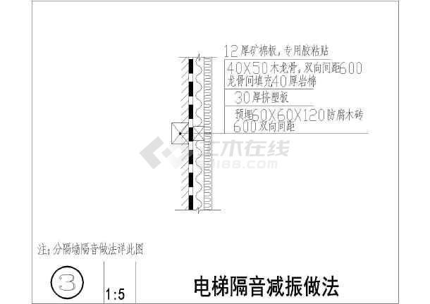 某建筑工程中常用大样立体图汇总(13种)图纸节点拼豆相框图片