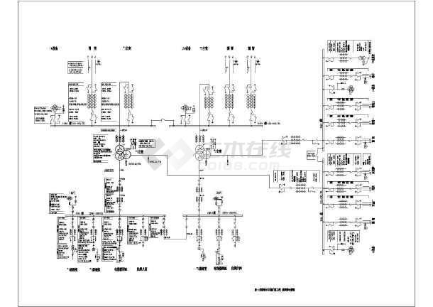 相关专题:变电站图纸某电厂380v接线图380v配电接线