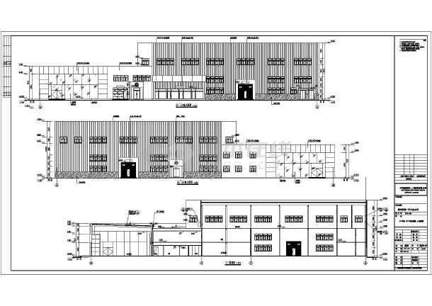 某地一汽大众4S店下载施工图_cad图纸建筑户型优图无锡家佳c3cad图纸图片