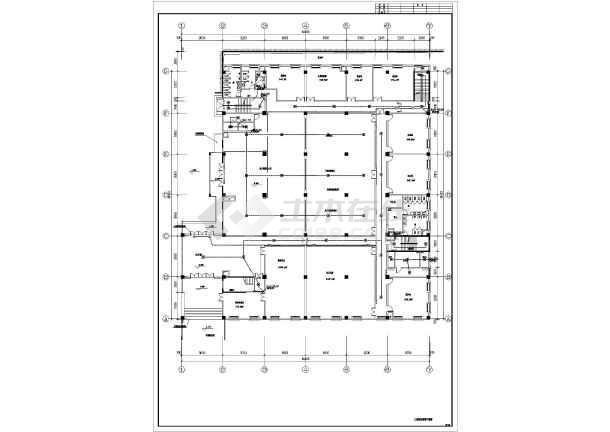 某9层办公楼集中控制型消防设计系统灯具应急2010cad版下载普通图片