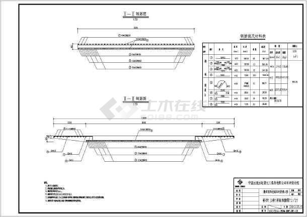 双孔跨河高架车行桥结构设计图全套