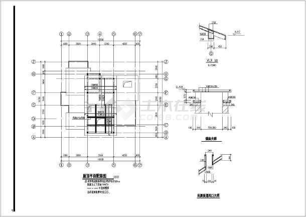 三层别墅设计图_三层别墅设计图cad图纸打印cad一键下载图纸如何图片