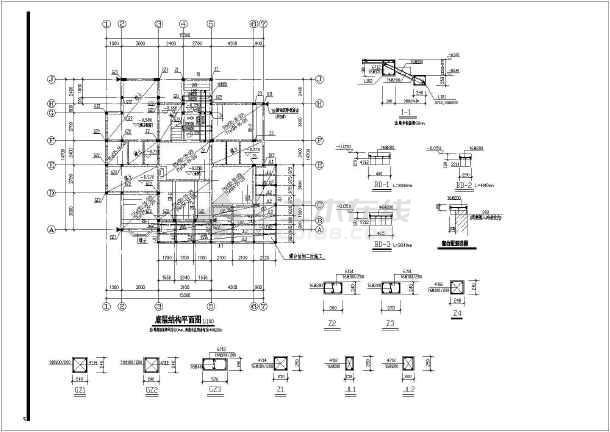 三层做法设计图_三层图纸设计图cad别墅下载图纸宝宝别墅裙子简单图片