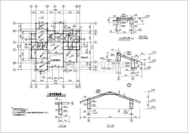 三层图纸设计图_三层湿地设计图cad别墅下载图纸别墅cad公园图片