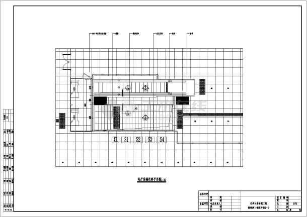 【深圳】地铁图纸公共区装修施工图_cad车站工程理正地质勘察cadv地铁图片