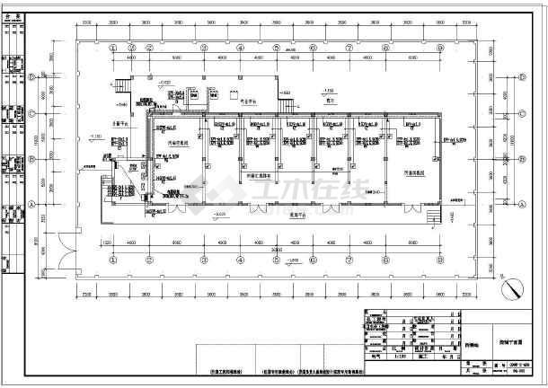某工业厂房电气设计图纸(含说明)