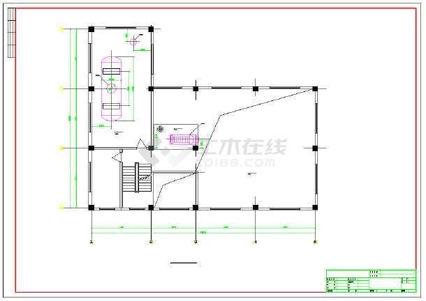 【甘肃】某地十吨锅炉房设计施工图纸图片