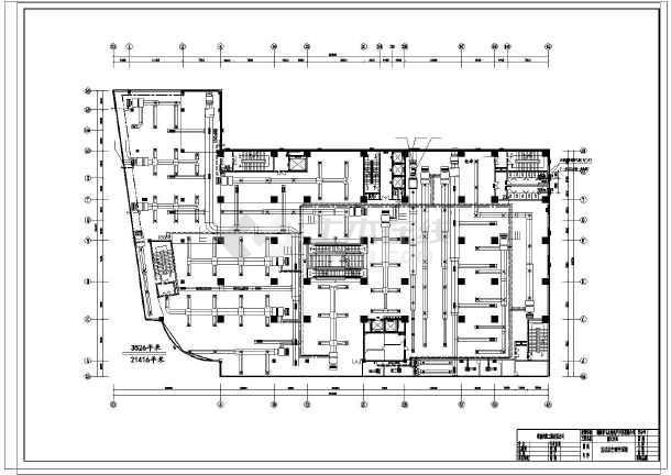 【上海】某大型商场中央空调设计图