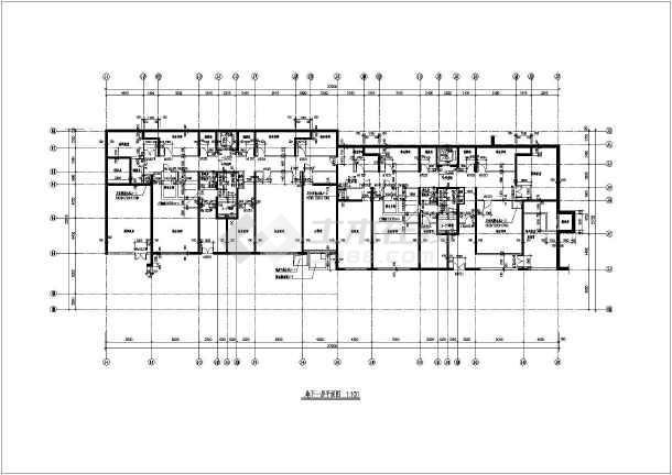 某地某河海花园住宅楼建筑设计施工图纸