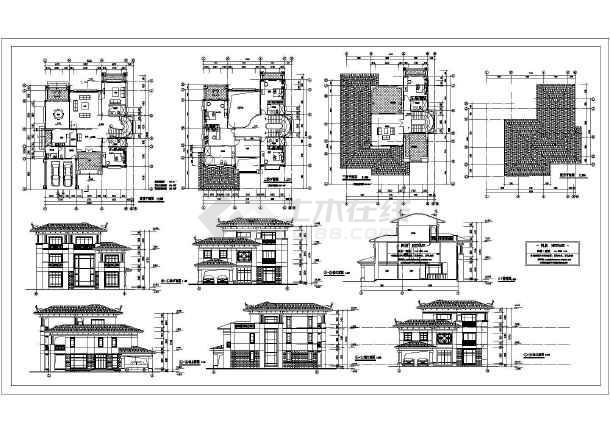 简介:别墅施工图