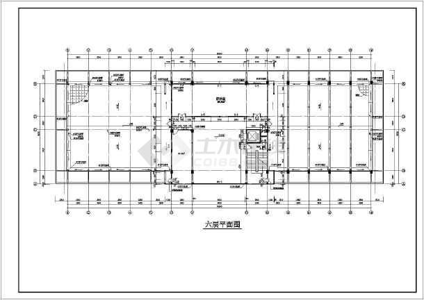 某地五层框架结构办公楼建筑设计说明