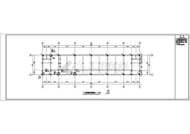 结构形式采用框架结构,地上4层,基础类型为柱下独立基础,底层墙体落于