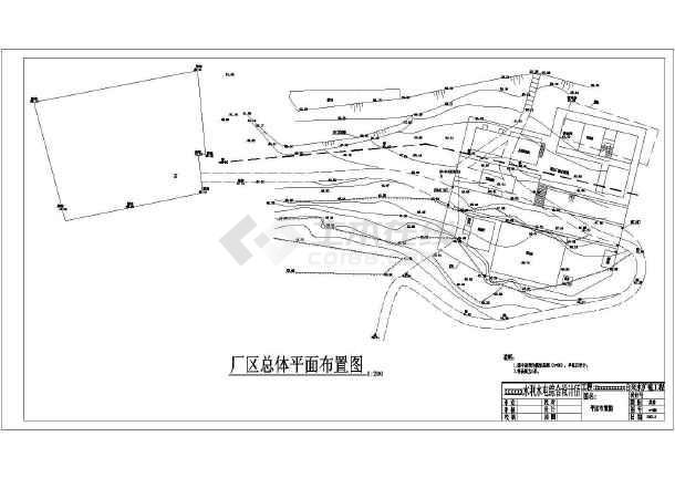 某自来水厂内厂区给水反应池设计图_cad图纸下载-土木