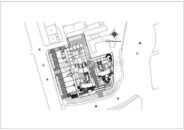 南通市南大街7a地块景观设计施工图