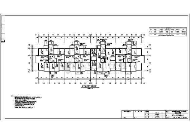 楼剪力墙结构施工图pkpm