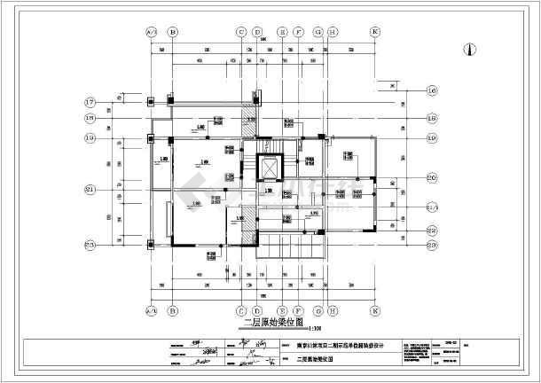 南京某地三层别墅室内装修施工图纸_cad图纸买在v别墅图纸耀古的哪儿荒圣图片