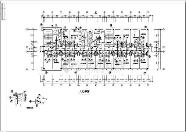 某地17层框架结构宾馆综合楼全套给排水施工图