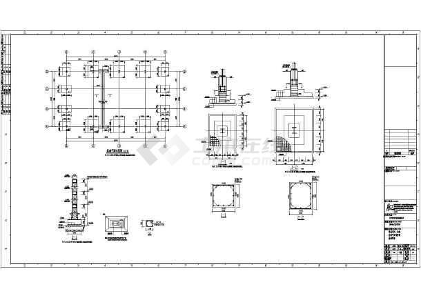 制氢站改扩建工程项目车间制氢结构图_cad图火车头cad下载图片