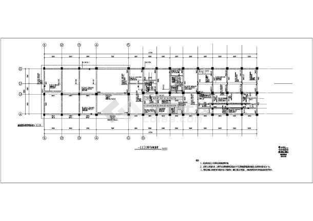 高铁牵引变电所建筑及结构设计施工图