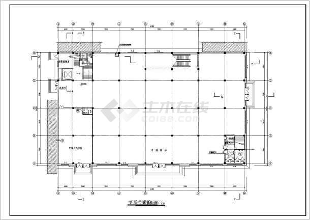 百货商场建筑设计图(共6个)