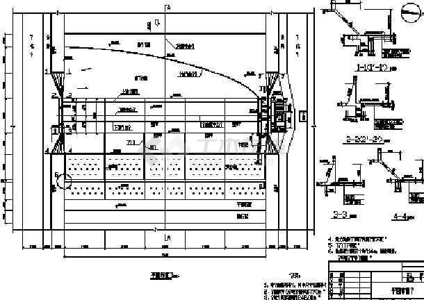 橡胶坝全套设计图(20张,2013年)