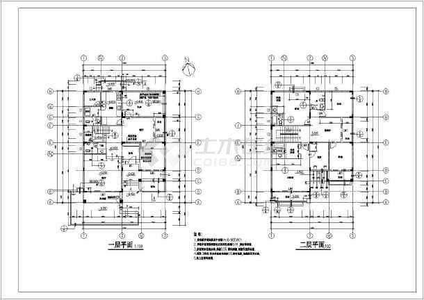 某三层豪华别墅建筑设计图(长15.8米 宽11.6米)
