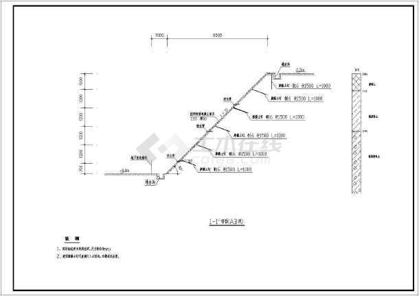 工程施工图(含砖砌集水井和排水沟)_cad图纸下共有多少图纸结构种图片