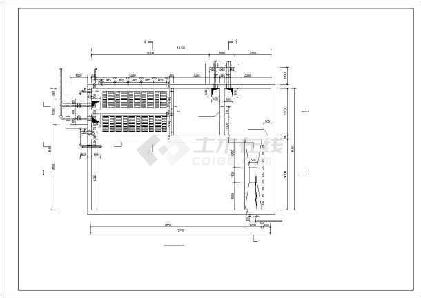某矿井水回用处理工艺施工图(超滤膜处理)-图1