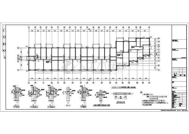 建筑结构图 砖混结构图纸