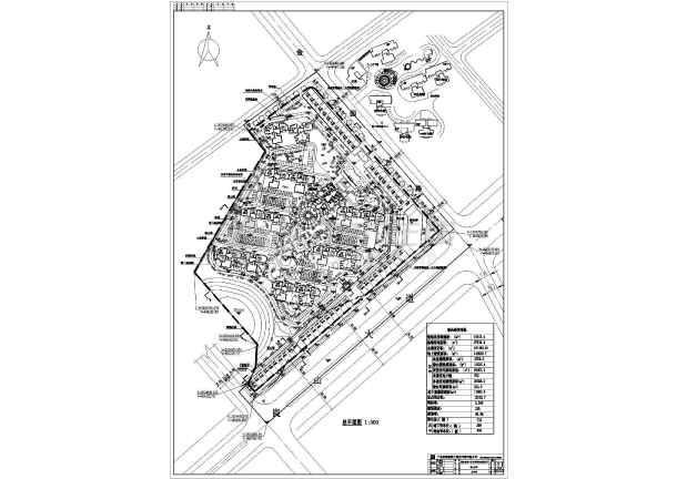 住宅小区规划平面图
