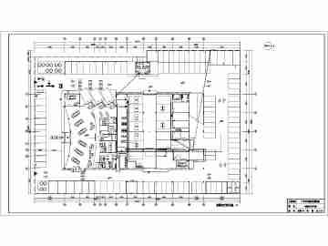 某地二层广汽丰田4s店强弱电系统设计施工图纸