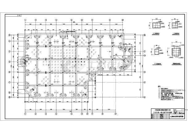 某金融中心基坑支护设计,采用灌注桩加内支撑支护