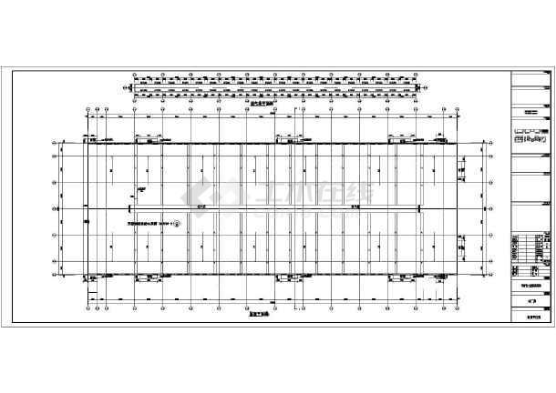 某地区单层钢结构厂房建筑设计方案